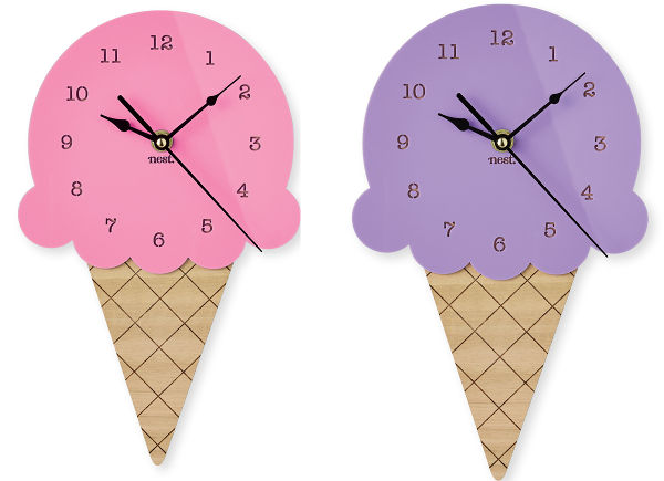 icecream clock