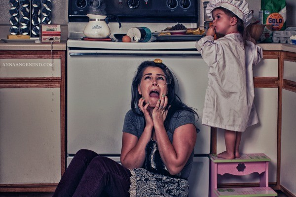 anna angenend photo series stay at home mums