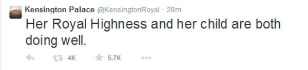 royal tweet two