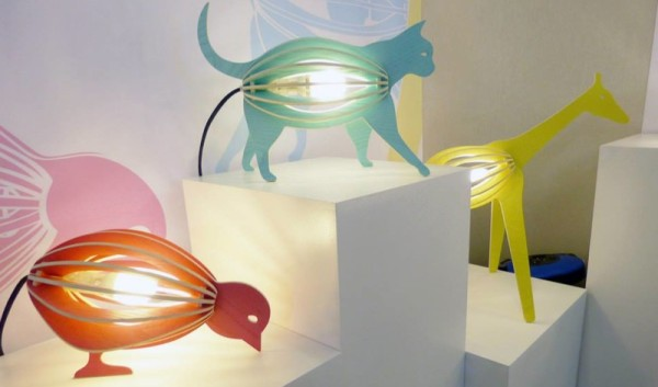 Gone's zooo animal lamps
