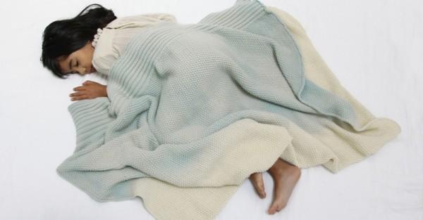 Whole Merino blanket for kids