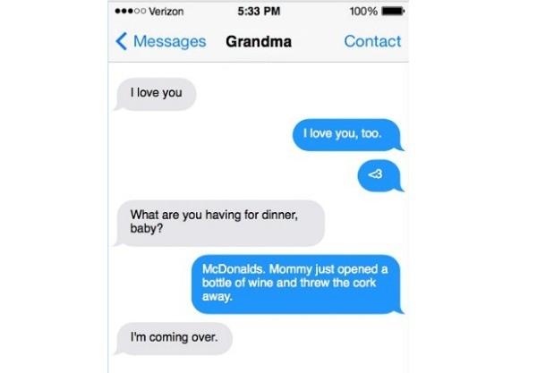 toddler text nana