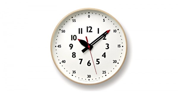 Mycuppatea Fun Pun Clock