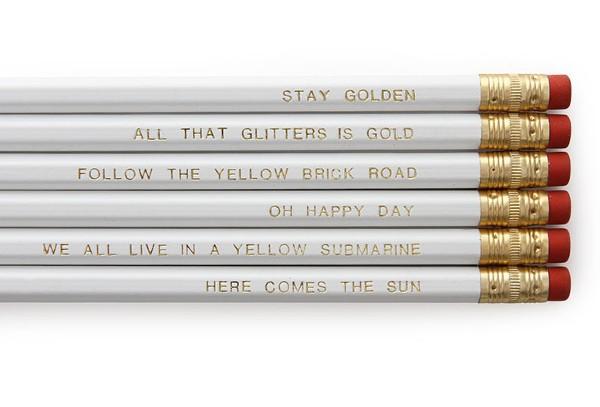 xmas pencils