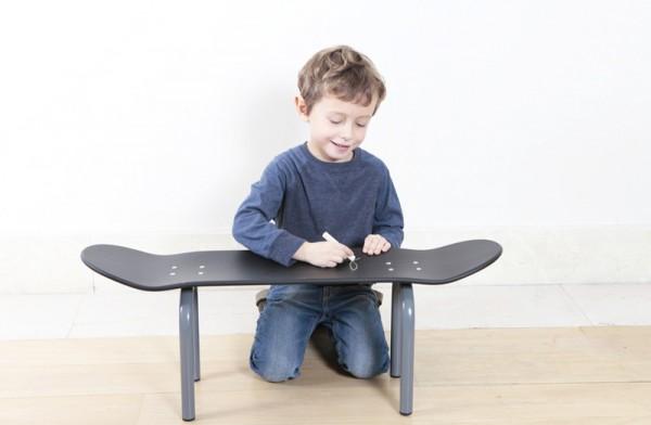 lecons de choses skateboard bench