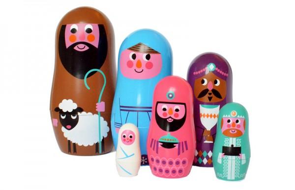 Matryoshka nativity