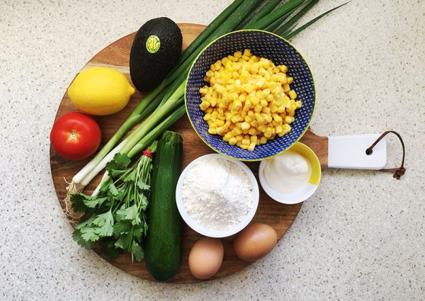Lets-Cook-corn-and-avo-salsa-ingredients