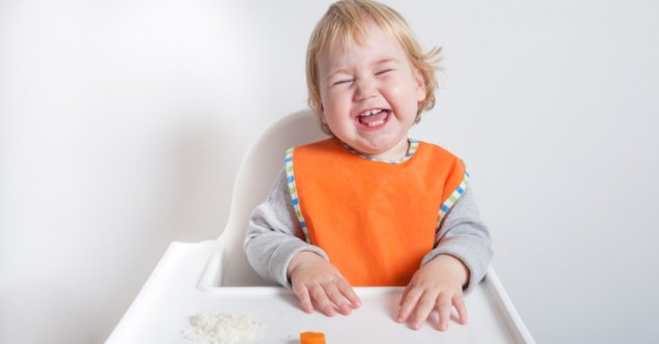 toddler laughing highchair sl fb