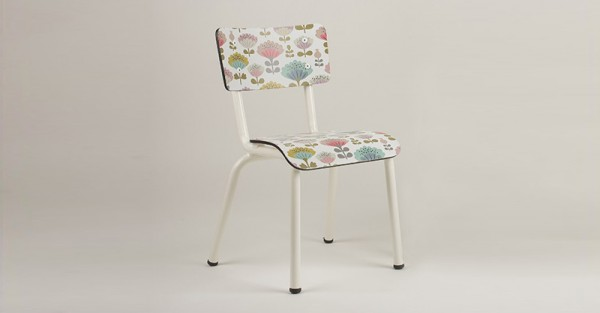 Peonies chair