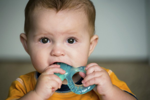 baby chewing teether stock sl
