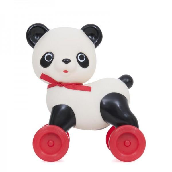 Panda on wheels