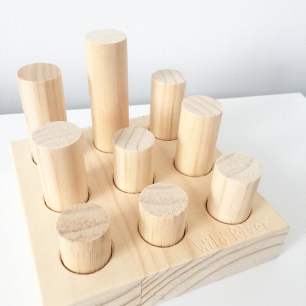 little peg play set timber