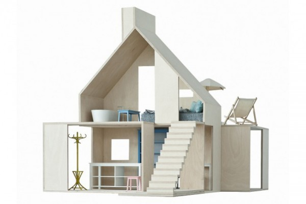 Boomini Wood Dollhouse