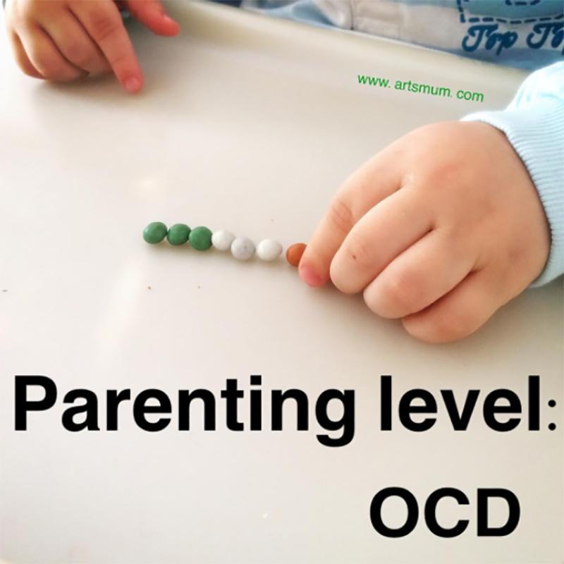 Toddler OCD meme