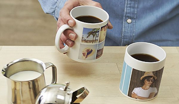 Print personalised photo mugs