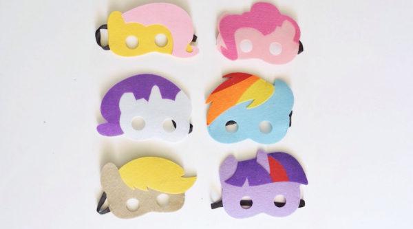 my little pony masks