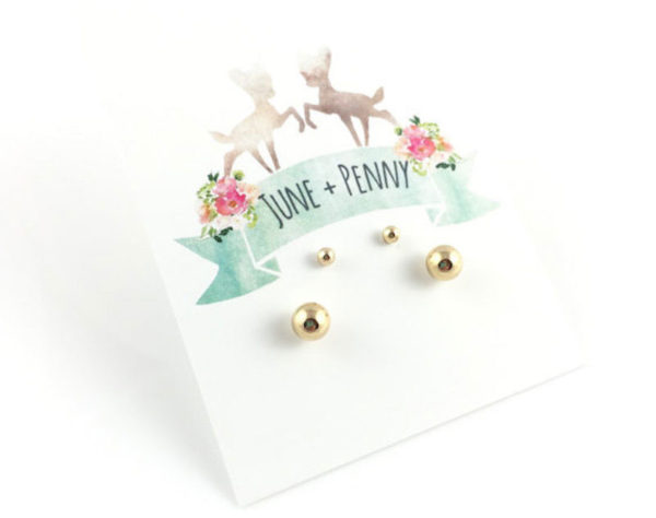Mummy and me earring set