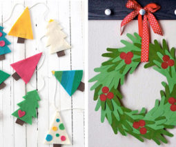Homemade Christmas decorations - feature