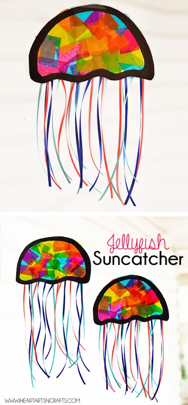 Jellyfish Suncatchers