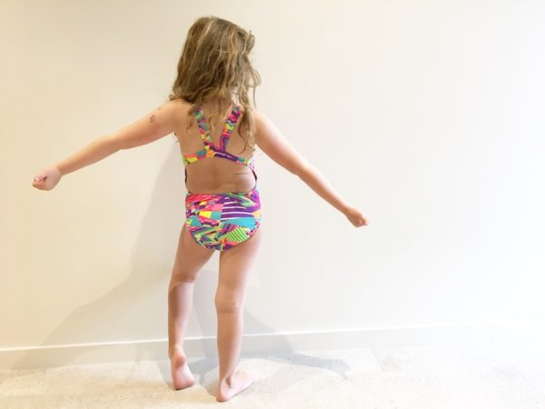 Tahlia's daughter in Speedo's new swim range