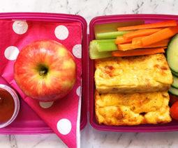Crustless quiche lunch box recipe