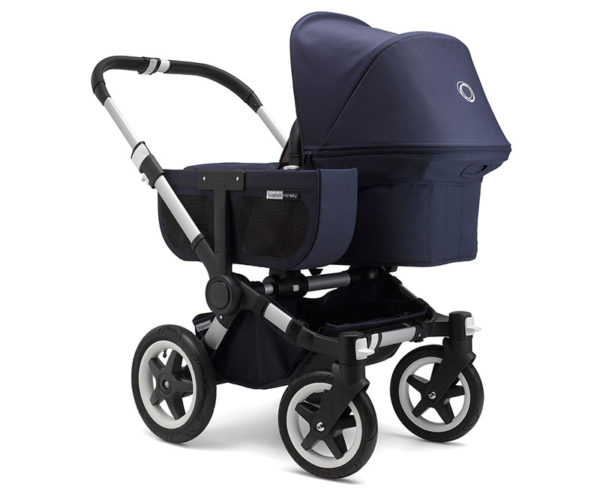 Bugaboo, pram, twins, navy, stroller
