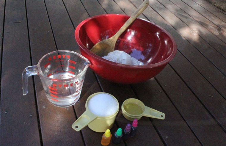 Play dough ingredients