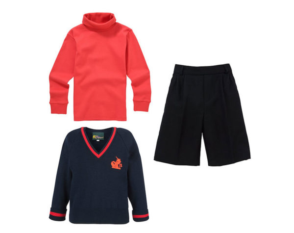 Prince George's Winter uniform