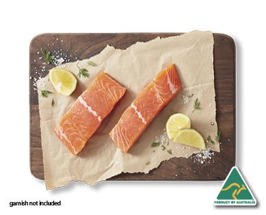 Aldi salmon fillets