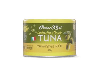 Aldi tuna in oil