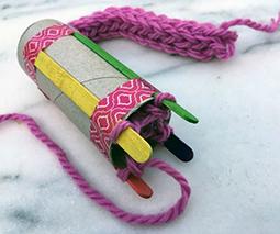 french knitting - thumbnail