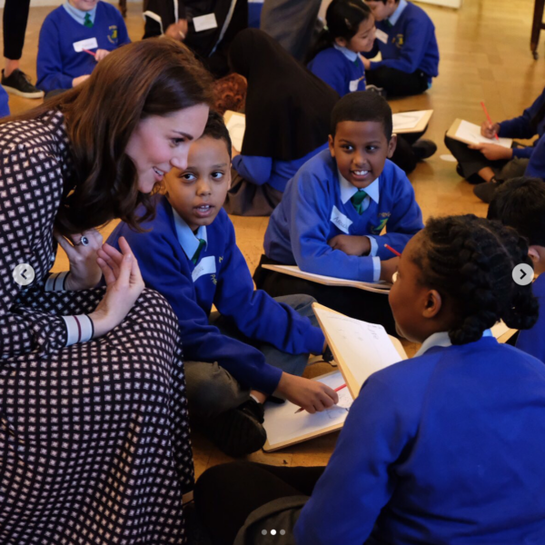 The Duchess of Cambridge visited the Foundling Museum i