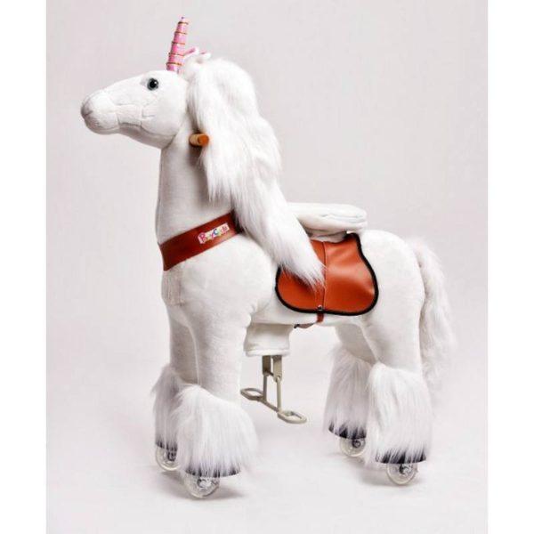 Ride on walking unicorn toy