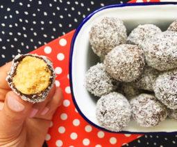 No-bake lamington balls recipe - feature