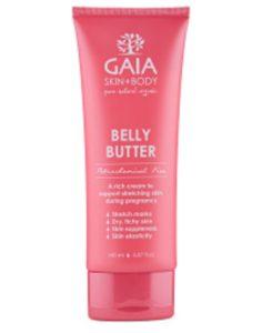 gaia belly butter