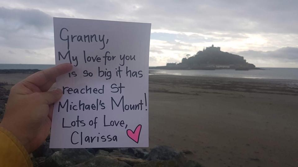 Clarissa letters to granny