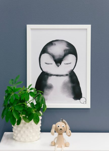 Kids Penguin poster