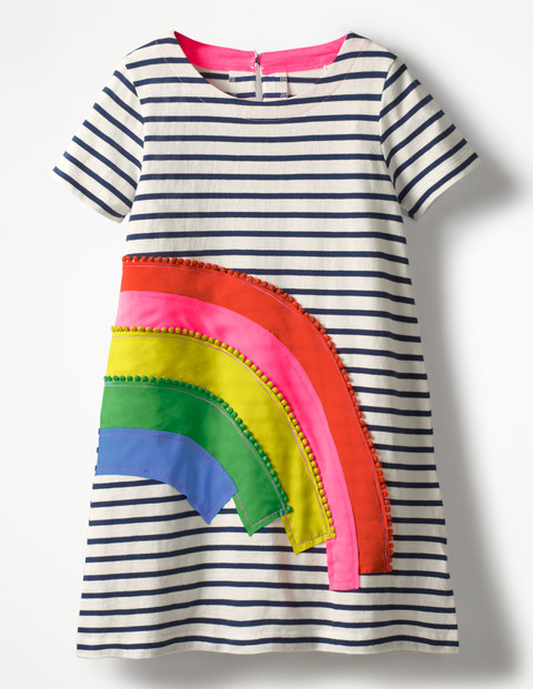 747bafbd4916 These colourful girls' frocks from Boden are the cutest to layer for ...