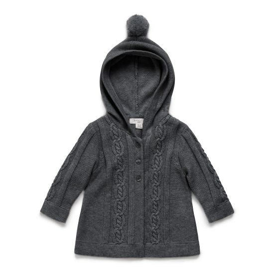 Cable cardigan by Pure Baby