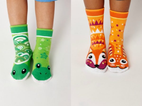sock collage