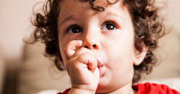 editorial: Child sucking thumb