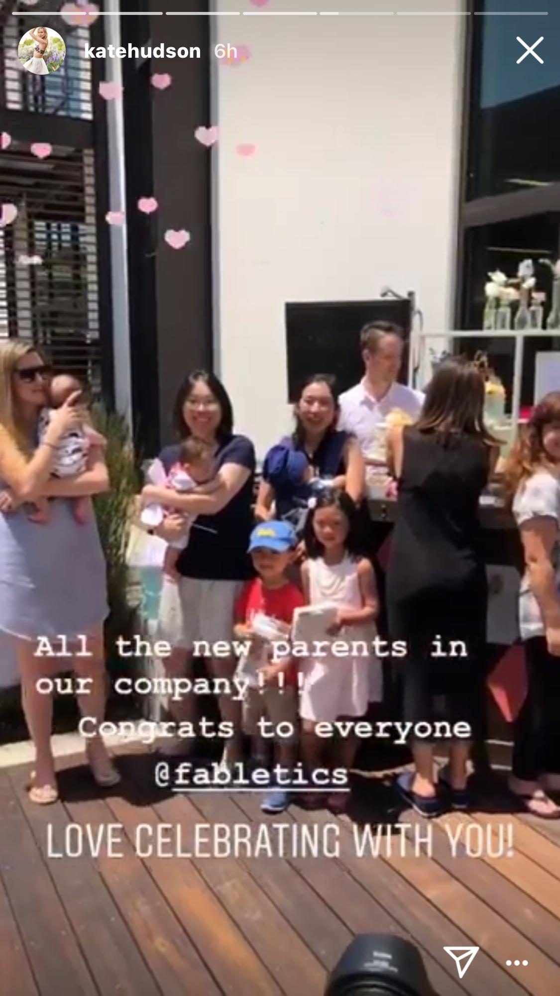Kate Hudson baby shower