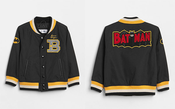 Baby Gap Batman Varsity Jacket at The Iconic