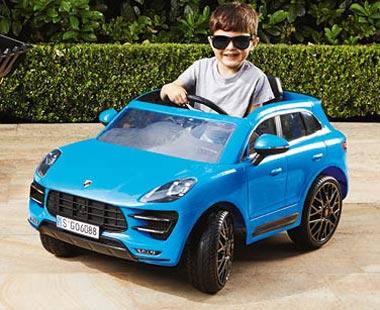 ALDI ride-on Porsche