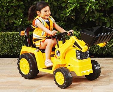 ALDI tractor