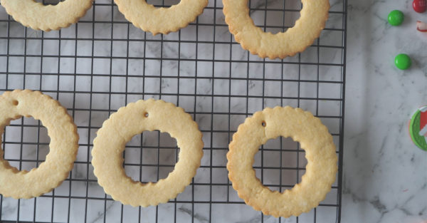 Christmas Wreath Biscuits Recipe