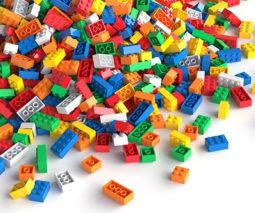 Pile of LEGO on floor
