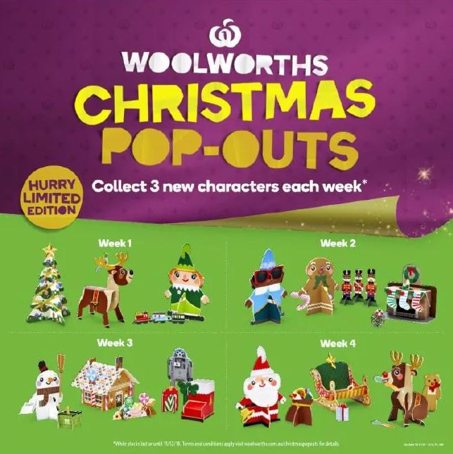 Woolworths collectables