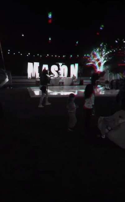 Mason Disick birthday party