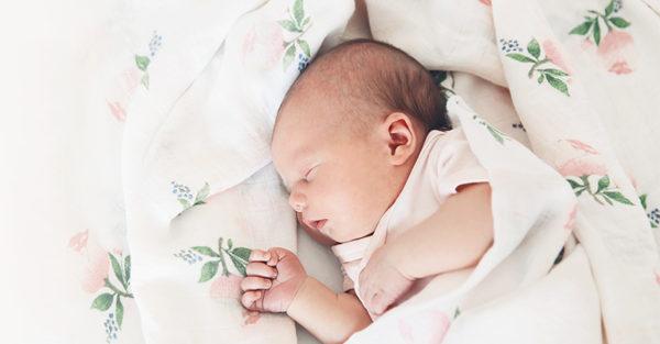 New baby sleeping